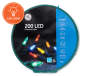 Staybright Multi Color LED Mini Light Wheel 150 Count Overhead Shot Silo Image