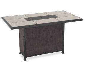Wilson Amp Fisher Stoneridge High Dining Fire Pit Table