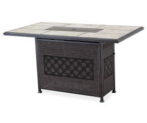 Wilson Amp Fisher Stoneridge High Gas Fire Pit Patio Table