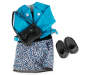 Style Girls Blue Cheetah Doll Outfit