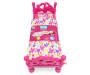 Style Girls Doll Bed Front View with Label Silo Image