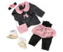 Style Girls Pink Bow Doll Outfit