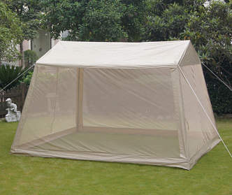 Wilson fisher windsor gazebo with netting 10 39 x 12 - Small gazebo with netting ...