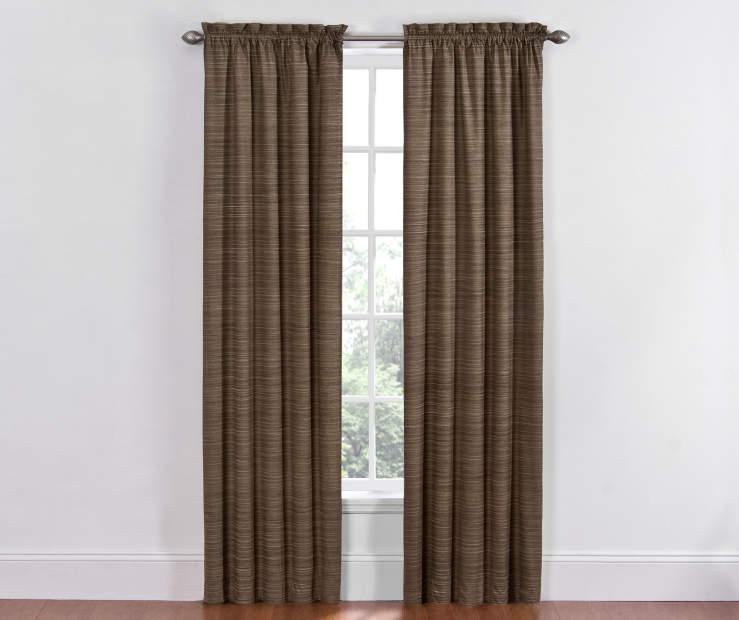 Sundown Marble Dewey Thermal Curtain Panel Pair, (84