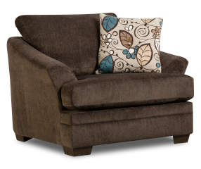 Simmons Sunflower Brown Chair And A Quarter Big Lots
