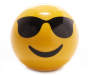 Sunglasses Emoji Bluetooth Speaker Front View Silo Image