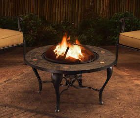 Wilson Amp Fisher Sunset 35 Quot Round Steel Wood Burning Fire