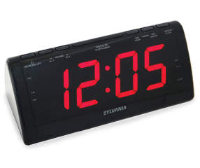 Sylvania Am Fm Digital Alarm Clock Radio Big Lots