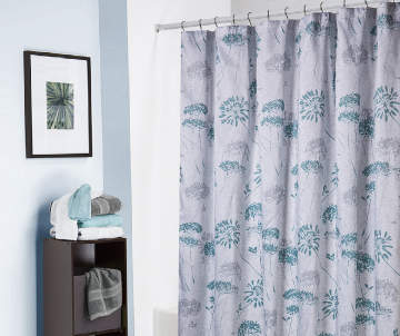 Grey And Turquoise Shower Curtain.  8 00 Shower Curtains Curtain Sets Big Lots