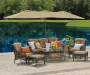 Wilson & Fisher Triple Vent Market Patio Umbrellas, (15')