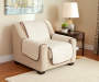 Tan side Furniture Protector Chair Cover Room View