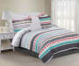 Taylor 10-Piece Full Reversible Comforter Set Colorful side lifestyle image