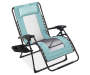 Teal Oversized Zero Gravity Lounger Silo
