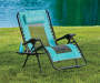 Teal Oversized Zero Gravity Lounger