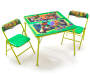 Teenage Mutant Ninja Turtles Activity Table with 2 Chairs Silo