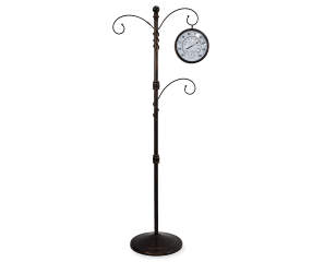 Wilson & Fisher Thermometer Plant Stand with Hooks - Big Lots