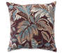 Tropical Spa Print Decorative Pillow Silo Image