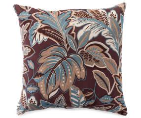 Tropical Spa Print Throw Pillow 18 Quot X 18 Quot Big Lots