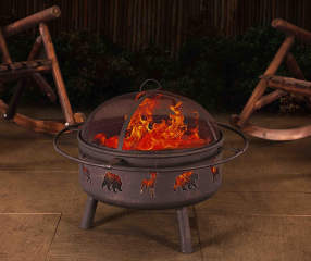 Wilson Amp Fisher Tucson 32 Quot Round Wood Burning Fire Pit