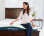 "Twin 10"" Gel-Infused Memory Foam Mattress-In-A-Box"