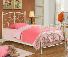 Scroll Metal Twin Bed Big Lots