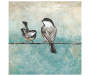 Two Birds on a Wire Embellished Art Canvas silo front