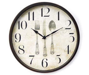Utensil Wall Clock 12 Quot Big Lots