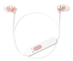 vivitar rose gold metallic bluetooth earbuds big lots. Black Bedroom Furniture Sets. Home Design Ideas
