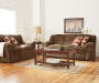 Verona Chocolate Chenille Loveseat