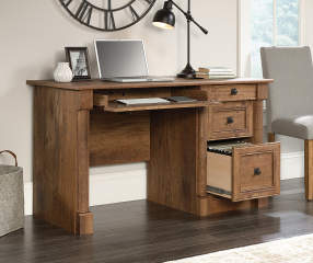Sauder Vintage Oak Computer Desk Big Lots