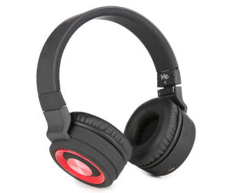 ihip vortx black white bluetooth headphones big lots. Black Bedroom Furniture Sets. Home Design Ideas
