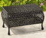 WESTWOOD RESIN WICKER COFFEE TABLE