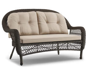 Wilson Amp Fisher Westwood All Weather Wicker Settee