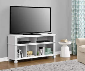 Ameriwood 55 Quot White Tv Stand Big Lots
