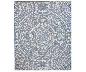 Wilson Amp Fisher Lakewood Medallion Patio Rug 6 7 Quot X 9