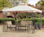 Warrenton Easy Up Gazebo 9 point 8ft x 9 point 8ft lifestyle