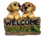 Welcome Dog Sign Decor
