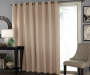 Wheat Zinnia Patio Door Blackout Curtain Panel 100in x 84in lifestyle