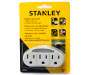 White 3 Outlet Adapter with Night Light Package shot