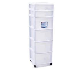 Sterilite White 6 Drawer Cart Big Lots