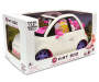 White Fiat 500 Fashion Doll Car Silo In Package