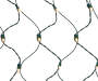 White Hedge Net Lights 100-Count Silo