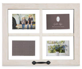 white window pane distressed picture frame big lots - Windowpane Picture Frame