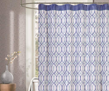 blue and gray shower curtain.  6 00 Shower Curtains Curtain Sets Big Lots