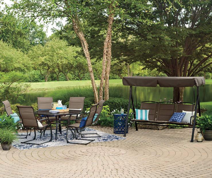 Wilson & Fisher Aspen Dining & Patio Swing Set | Big Lots