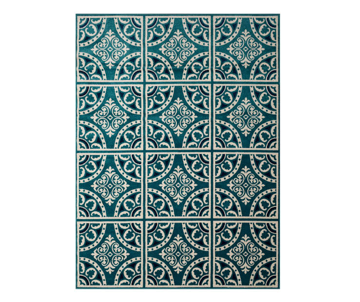 Wilson Fisher Blue Abbott Patio Rugs Big Lots