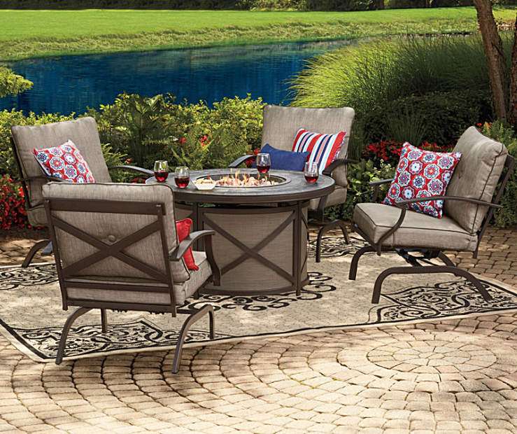 Wilson Amp Fisher Mesa Patio Furniture Collection Big Lots