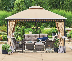 Wilson Amp Fisher Oakmont 6 Piece Patio Furniture Set With