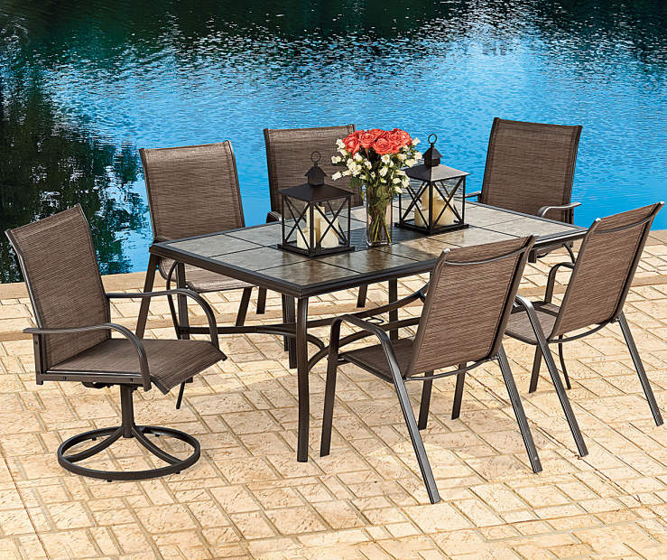 Dining Table Big Lots: Wilson & Fisher Sanibel Patio Dining Collection
