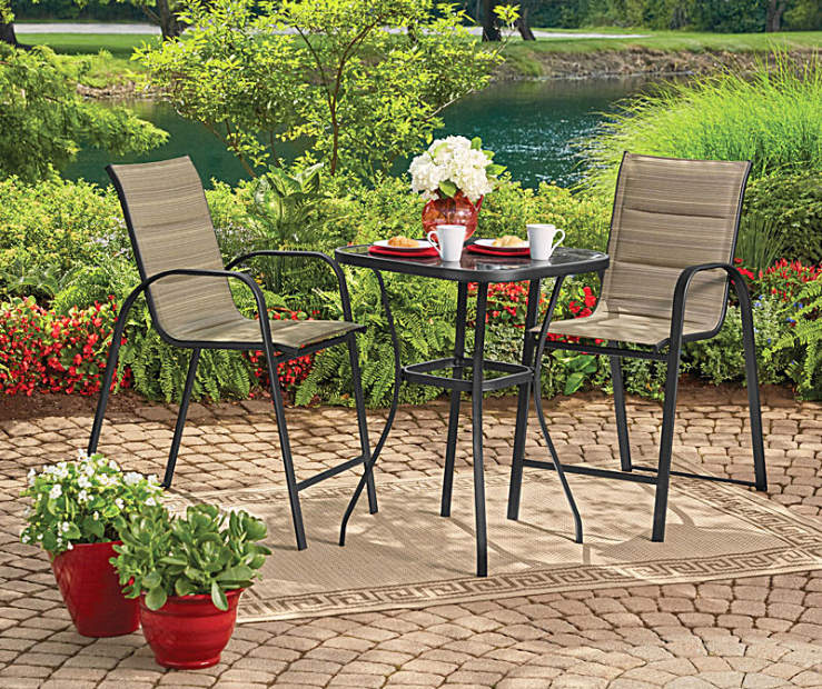 Wilson Amp Fisher Tahoe Bistro Set Big Lots